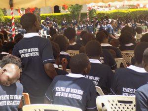 Model Caregivers in Health & Development Graduation Ceremony.