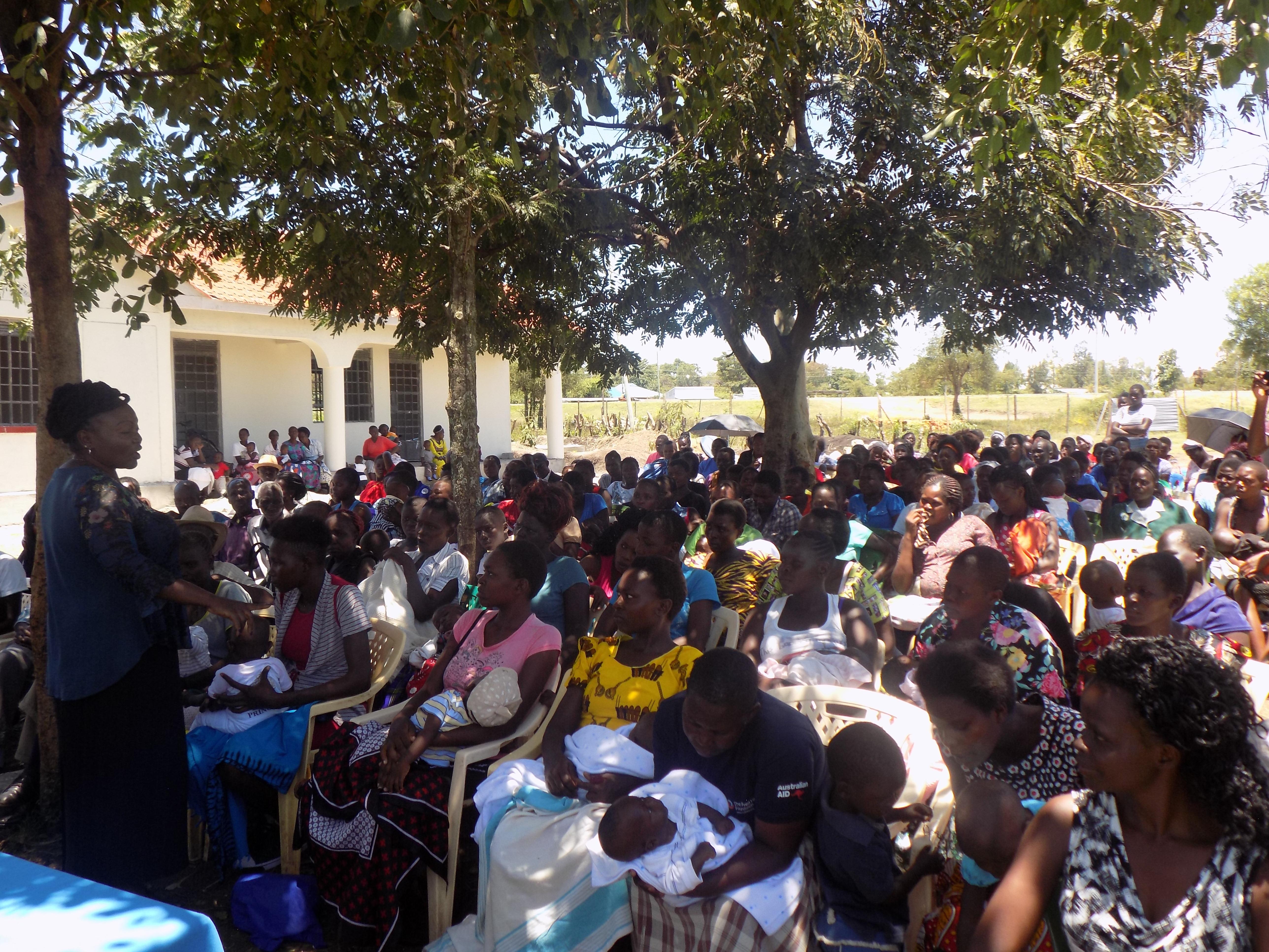 Nurturing Care Sensitization at Rageng'ni, North Uyoma Ward,Siaya County.