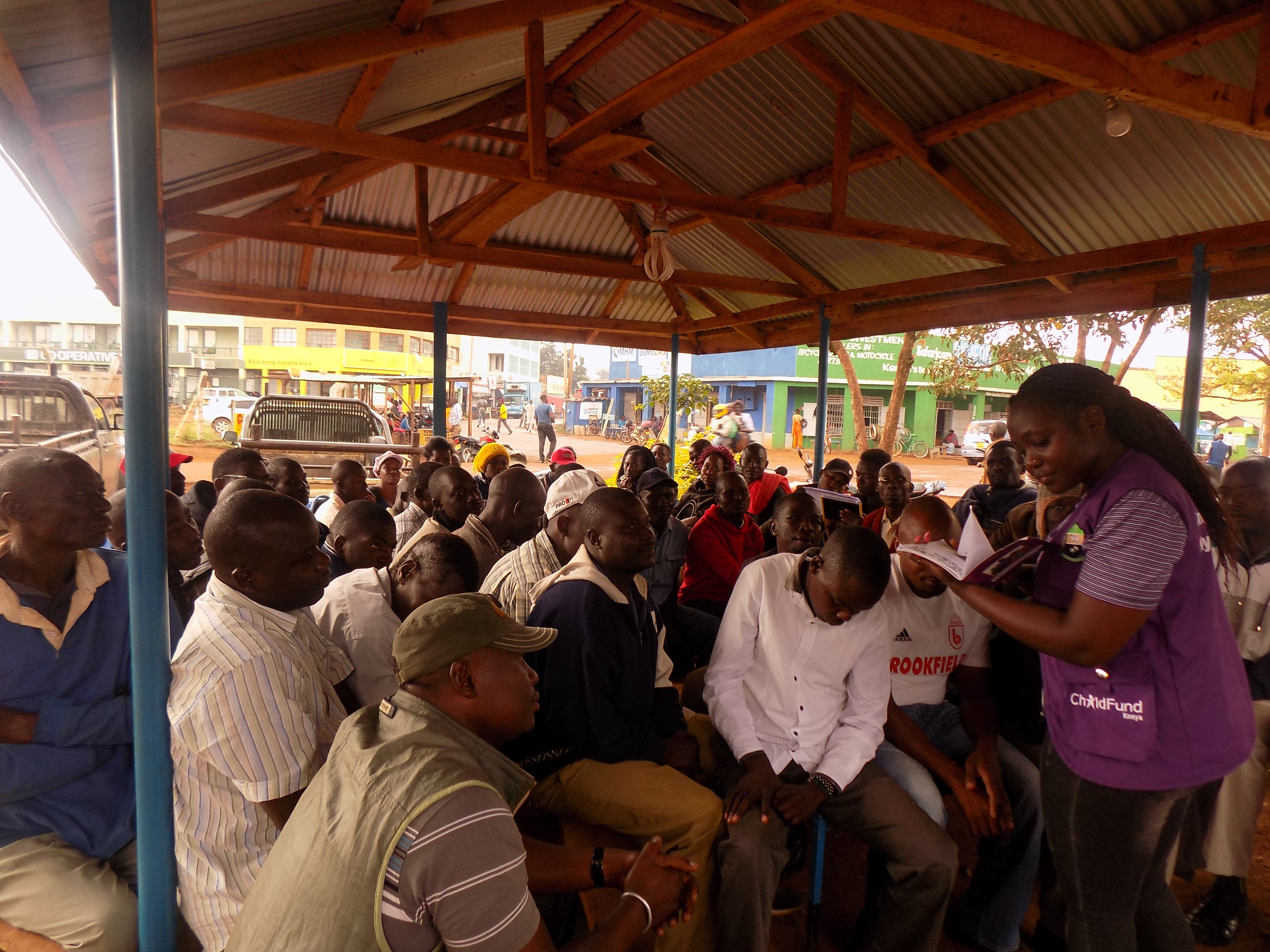 Siaya Pick-Up transporters group Sensitized on Best practices in Nurturing Care