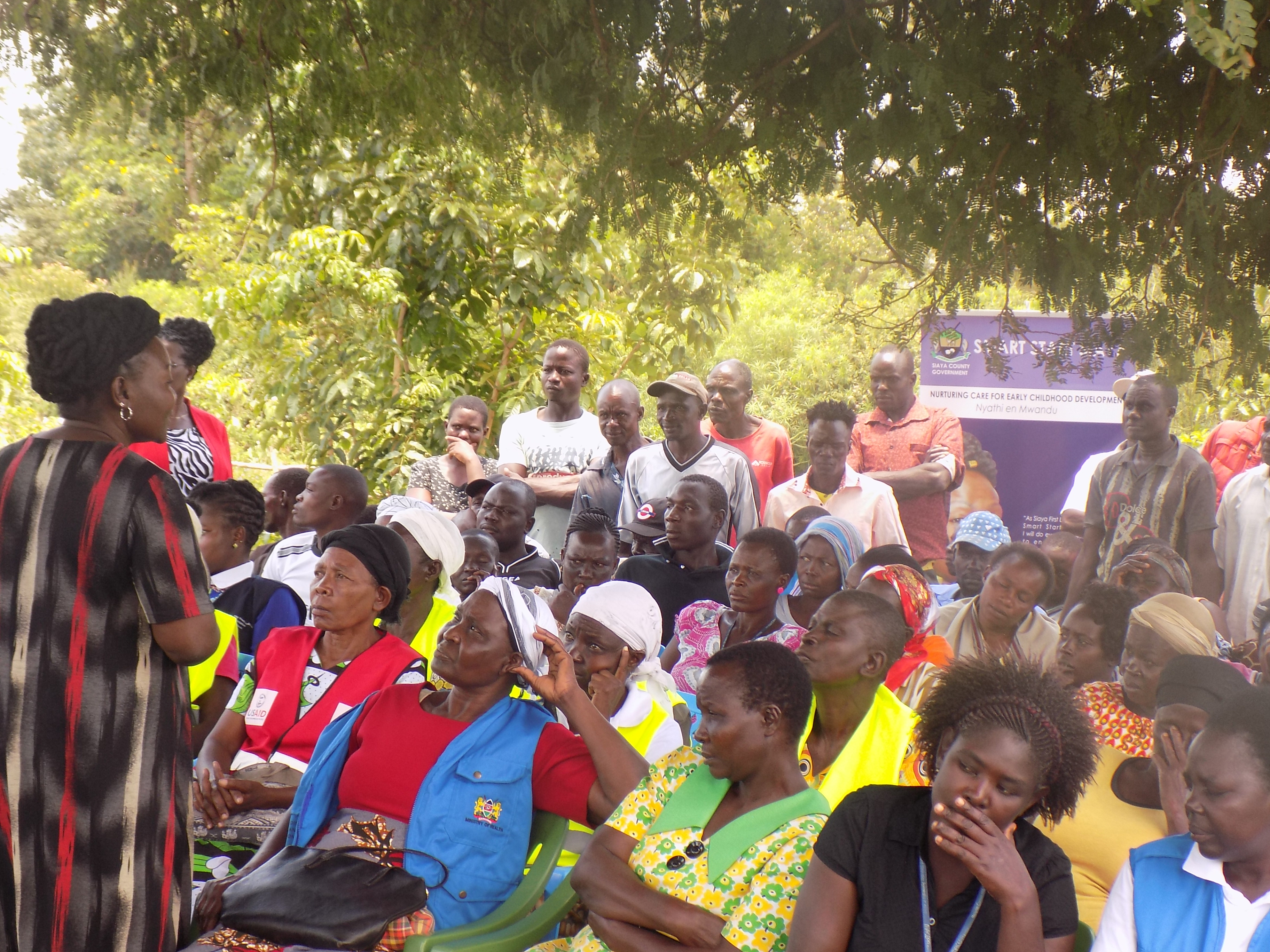 RESIDENTS OF NDAYI,CENTRAL ALEGO WARD SENSITIZED ON NURTURING CARE FOR ECD.
